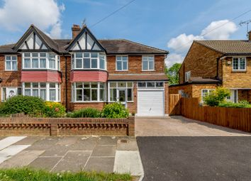 Thumbnail 4 bed semi-detached house for sale in Greystoke Avenue, Pinner, Middlesex