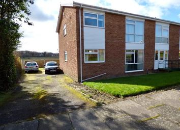 Thumbnail 2 bedroom flat for sale in Hebden Avenue, Carlisle, Cumbria