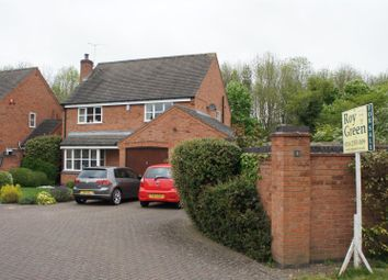 Thumbnail 4 bed detached house for sale in Vine House Close, Thurcaston, Leicester