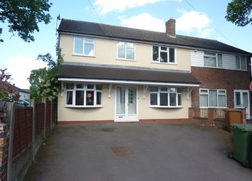 Thumbnail 4 bedroom semi-detached house to rent in Broad Lane, Bloxwich, Walsall