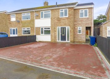 Thumbnail 5 bedroom semi-detached house for sale in Brewin Avenue, March