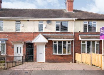 Thumbnail 3 bed town house for sale in Broadway, Stoke-On-Trent