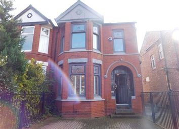 Thumbnail 4 bed semi-detached house to rent in Ashwood Avenue, West Didsbury, Manchester