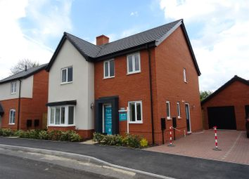 Thumbnail 4 bed detached house for sale in Station Road, Ibstock, Leicestershire