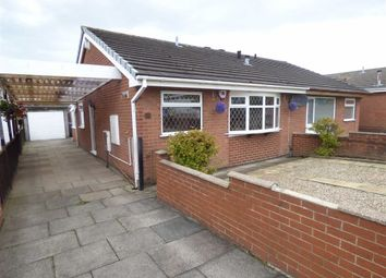 Thumbnail 2 bed semi-detached bungalow to rent in Galsworthy Road, Adderley Green, Stoke-On-Trent