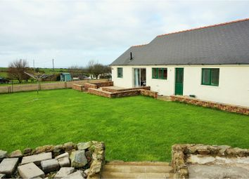 Thumbnail 3 bed detached bungalow for sale in Abereiddy Road, Croesgoch