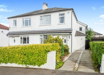 Thumbnail 3 bed semi-detached house for sale in Rockmount Avenue, Thornliebank, Glasgow