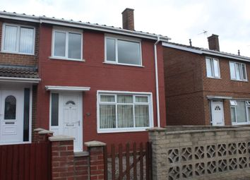Thumbnail 3 bed flat to rent in Crawcrook Walk, Stockton-On-Tees