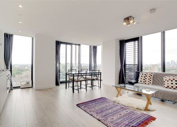 Thumbnail 2 bed property to rent in Stratosphere Tower, 55 Great Eastern Road, London