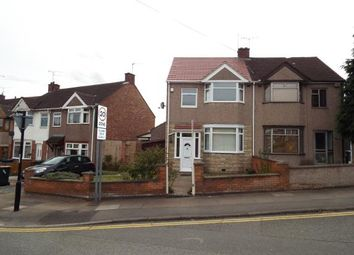 Thumbnail 3 bedroom semi-detached house for sale in Sadler Road, Radford, Coventry, West Midlands
