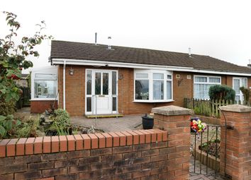 Thumbnail 2 bed semi-detached bungalow for sale in St Fagans Grove, Castle Park, Merthyr Tydfil