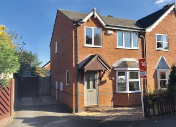 Thumbnail 3 bed semi-detached house to rent in Heron Close, Mountsorrel, Loughborough