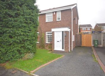 Thumbnail 2 bed semi-detached house to rent in Cornovian Close, Perton, Wolverhampton
