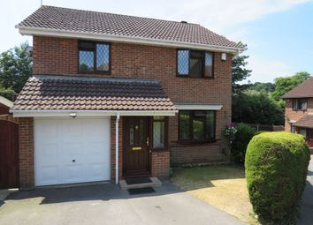 Thumbnail 4 bed detached house for sale in Swincombe Rise, West End, Southampton