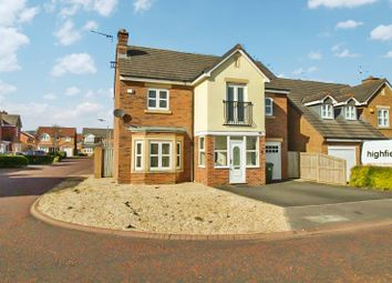 Thumbnail 4 bed detached house to rent in Mulberry Close, Blyth