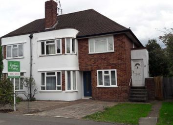 Thumbnail 2 bed maisonette for sale in The Broadway, Weston Green, Thames Ditton
