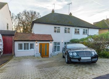 Thumbnail 3 bedroom semi-detached house for sale in The Gardens, Brookmans Park, Hatfield