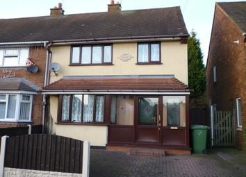 Thumbnail 3 bed semi-detached house to rent in Tewkesbury Road, Walsall