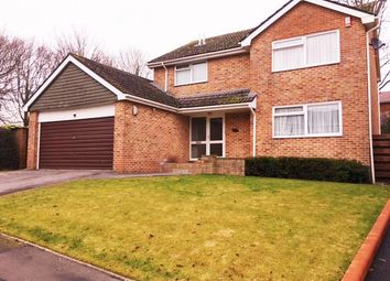 Thumbnail 4 bed detached house to rent in Lynwood Drive, Wimborne, Dorset