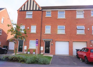Thumbnail 4 bed town house for sale in Bradstone Drive, Nottingham