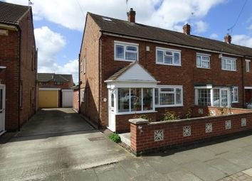 Thumbnail 4 bed end terrace house for sale in Lockerbie Avenue, Rushey Mead, Leicester, Leicestershire