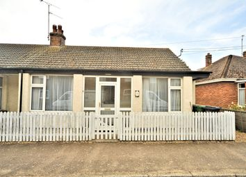 Thumbnail 3 bed semi-detached bungalow for sale in Caley Street, Heacham, King's Lynn