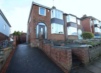 Thumbnail 3 bed semi-detached house for sale in St Margarets Drive, Sneyd Green