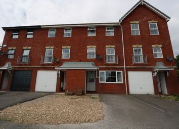 Thumbnail 4 bed terraced house for sale in Clos Mancheldowne, Barry