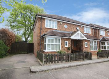 Thumbnail 3 bed semi-detached house for sale in St. Richards Mews, Broomdashers Road, Crawley