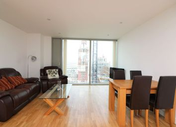 Thumbnail 1 bed flat to rent in Landmark Tower West, Canary Wharf