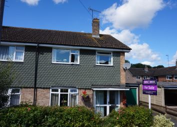 Thumbnail 3 bed semi-detached house for sale in Meadow Close, Stratford-Upon-Avon