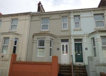 Thumbnail 2 bedroom terraced house for sale in Cattedown, Plymouth, Devon