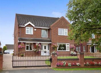 Thumbnail 4 bed detached house for sale in Wood Lane, Cannock, Staffordshire