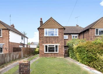 Thumbnail 3 bed semi-detached house for sale in Crockford Park Road, Addlestone, Surrey