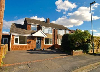 Thumbnail 4 bed semi-detached house for sale in Welwyn Close, Thelwall, Warrington