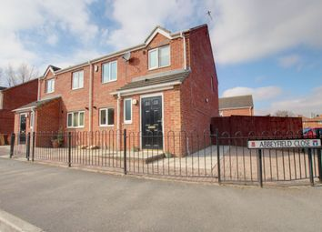 Thumbnail 3 bed semi-detached house for sale in Abbeyfield Close, Gateshead