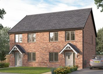 "Thumbnail 3 bedroom semi-detached house for sale in ""Coming Soon"" at Corner Farm, Luke Lane, Brailsford, Ashbourne"