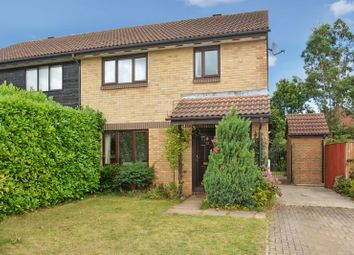Thumbnail 3 bed semi-detached house for sale in Wilson Way, Caversfield, Bicester