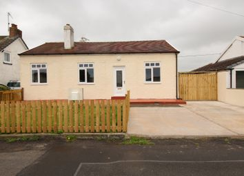 Thumbnail Bungalow for sale in Skinburness Road, Skinburness, Wigton, Cumbria