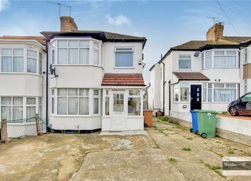 Thumbnail 3 bed end terrace house for sale in Teignmouth Close, Edgware