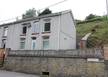 Thumbnail 3 bed end terrace house for sale in Prospect Place, Llanhilleth, Abertillery