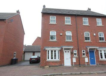 Thumbnail 3 bed semi-detached house for sale in Montgomery Road, Earl Shilton, Leicester