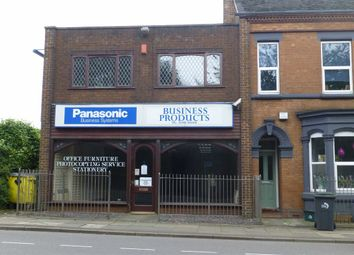 Thumbnail Retail premises for sale in Moorland Road, Stoke-On-Trent, Staffordshire
