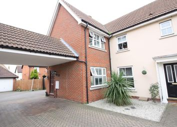 Thumbnail 4 bedroom semi-detached house for sale in Mary Rose Close, Chafford Hundred, Grays