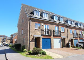 Thumbnail 3 bed town house for sale in Baker Crescent, Dartford, Kent