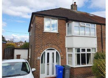 Thumbnail 3 bed semi-detached house for sale in Coupe Drive, Stoke-On-Trent
