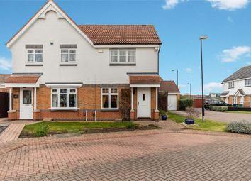 Thumbnail 2 bedroom semi-detached house for sale in Crosthwaite Grove, Sunderland, Tyne And Wear
