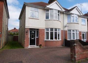 Thumbnail 3 bed semi-detached house to rent in Beverley Road, Ipswich