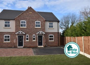 Thumbnail 4 bed semi-detached house for sale in Old Forge Close, Kegworth, Derby