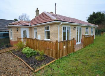 Thumbnail 2 bed detached bungalow for sale in Alandale Drive, Kessingland, Lowestoft